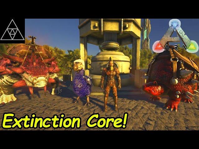 ARK Extinction Core #018 ► Industrial Forge & Level 480 Tribesman! Alpha Dodi zähmen!