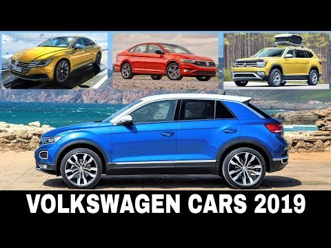 Top 7 NEW Volkswagen Cars and SUVs Coming to Redeem the Brand in 2019