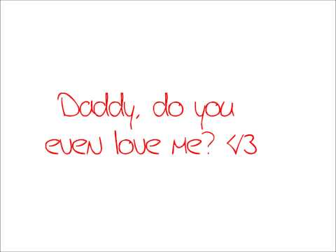 Daddy why did you eat my Fries  -Adventure Time lyrics