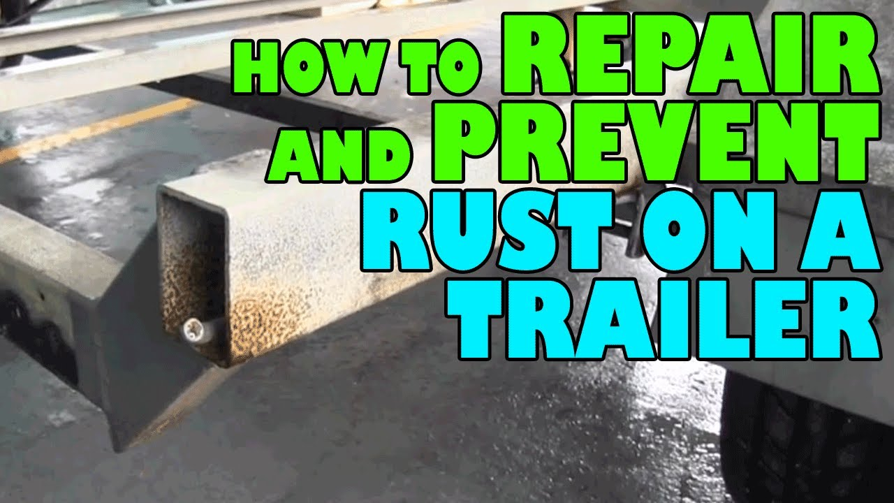 How To Repair And Prevent Rust On A Trailer Youtube Boat Light Wiring Harness 4 Flat 35ft Redo Lights