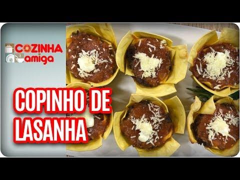 Copinho De Lasanha - Gabriel Barone | Cozinha Amiga (27/02/18)