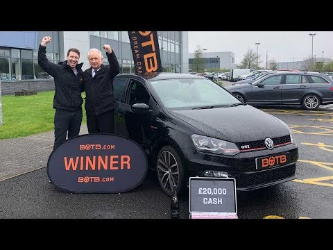 Winner! Week 16 2018 - John Chapman - Volkswagen Polo GTi Plus & £20,000!