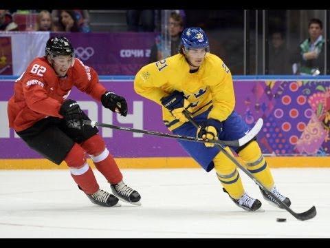 Sochi Olympics 2014 Hockey - Sweden vs Switzerland - YouTube