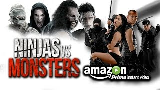 Classic Monsters meet Awesome Ninjas when Dracula, Frankenstein, th...