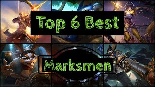 Top 6: Best Marksmen - Arena of Valor