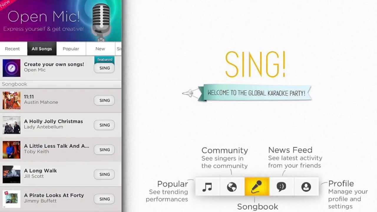 Скачать как песни из приложения караоке smile sing
