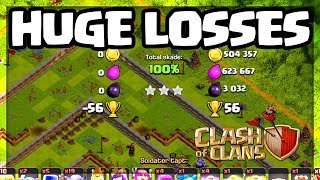 HUGE Trophy Losses - Clash of Clans and an Update on Updates