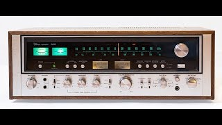 Sansui 9090 Receiver - Part 1 - Checkout and circuit mods
