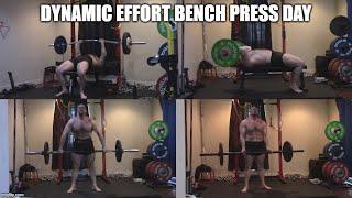 7-30-2020 Orc Mode Training -  Dynamic Effort Bench Press Day