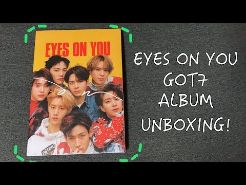 GOT7 Eyes On You Album Unboxing (On Ver)