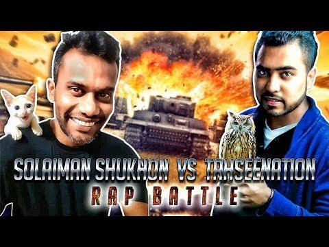 TahseeNation VS Solaiman Shukhon (Motivation or Roast?) | Epic Bangla Rap Battle | Fusion Production