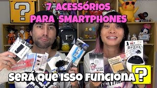 Testamos 7 produtos para smartphones - Será Que Isso Funciona? thumbnail
