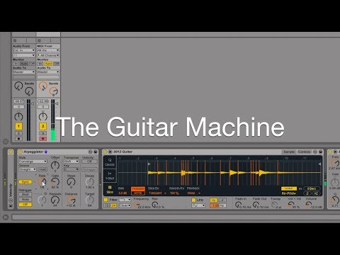 Entry 2:  The Guitar Machine