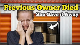 PREVIOUS OWNER DIED & Daughter Left It All / I Bought An Abandoned Storage Unit / Storage Wars