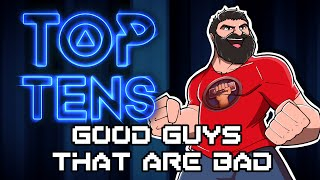Top Ten Good Guys That Are Bad (or Antiheroes) - The Completionist