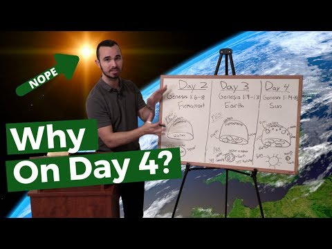 Why Was The Sun Created On The Fourth Day? (Flat Earth Bible Verses 1) thumbnail