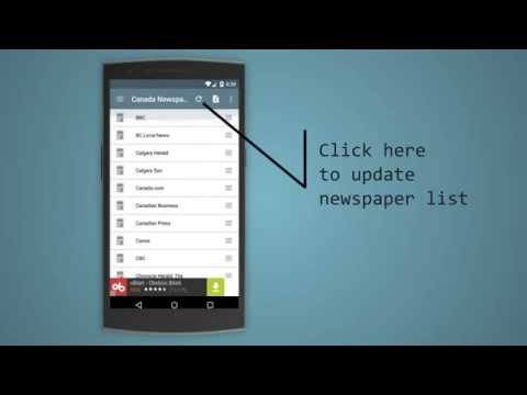 Canada Newspapers Android Application v2