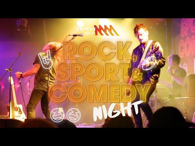 Rock, Sport & Comedy Night Adelaide 2021 | Triple M