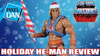 Holiday He Man Masters of the Universe Action Figure Video Review