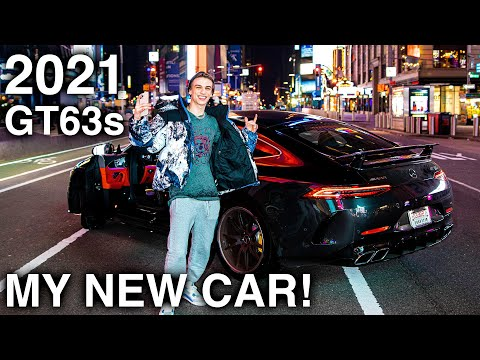 Buying a *BRAND NEW* 2021 Mercedes AMG GT 63s! (Trading in my G WAGON) – FASTEST CAR REVEAL!