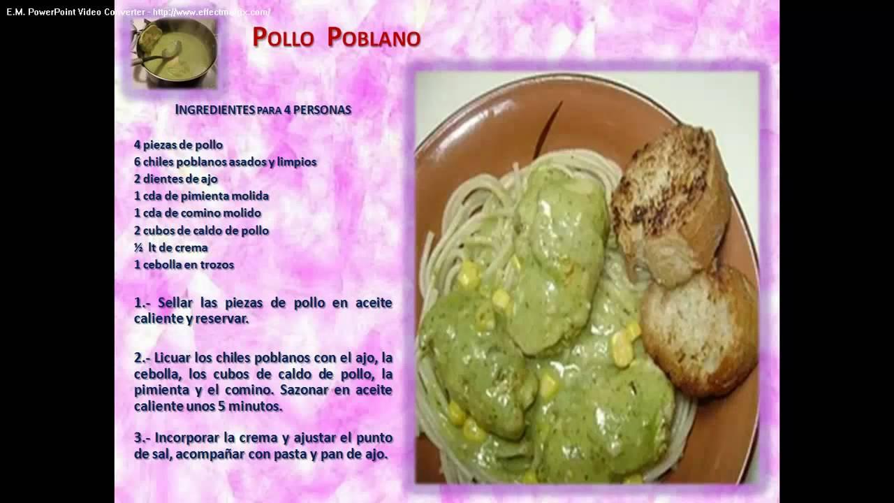 Recetas De Cocina Cortas   Recetas De Cocina Mexicana Youtube
