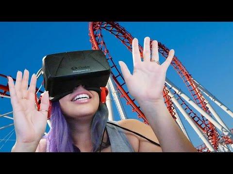 A VIRTUAL RIDE! Oculus Rift No Limit 2