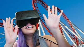 A VIRTUAL RIDE! Oculus Rift No Limit 2