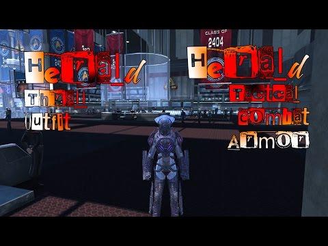 Herald Thrall Outfit / Combat Armor - Star Trek Online [1080p] & [60 fps]