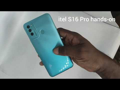 itel S16 Pro: a 360-degree hands-on look and specs