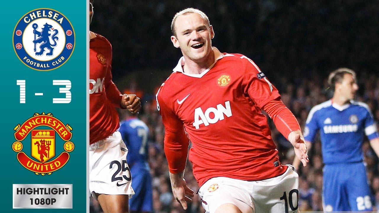 Download Chelsea vs Manchester United 1-3 (agg) Highlights & Goals - Quarter-finals   UCL 2010/2011