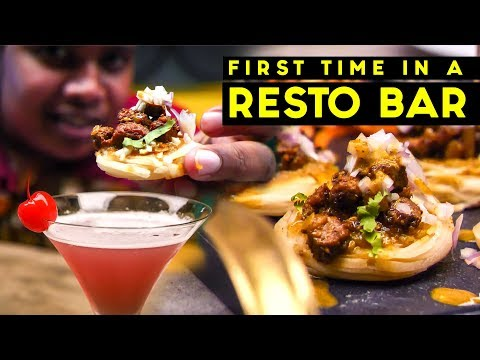 Mocktails and MUTTON PAROTTA at a Fancy Restro Bar - Func, Coimbatore