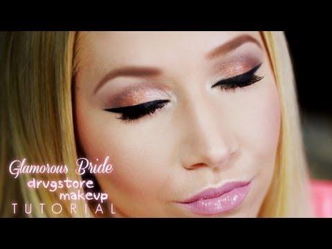 Best Wedding Makeup Drugstore : Bride On A Budget: Bridal Drugstore Makeup Tutorial - YouTube
