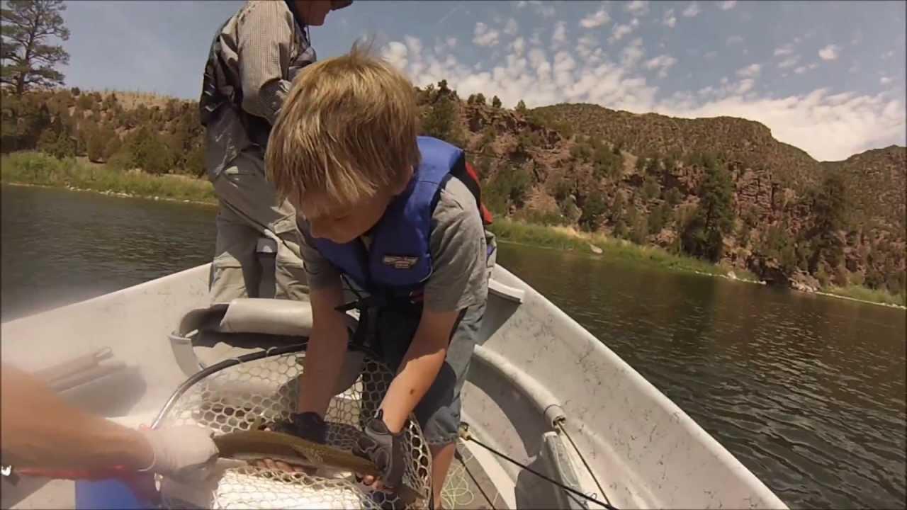 Green river fly fishing cicada madness utah 2013 youtube for Green river utah fishing report