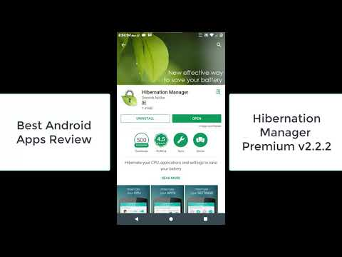 Hibernation Manager Premium 2.2.2, Best Android Apps Review