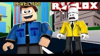 LEVEL 100 COP (Roblox Mad City)