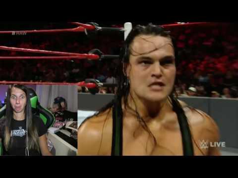 WWE Raw 9/19/16 Bo Dallas vs Indy Guy