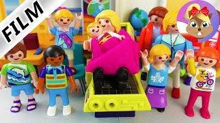 Playmobil Film polski - PORÓD W SZKOLE! HANIA ZOSTAJE POŁOŻNĄ? Serial - Wróblewscy
