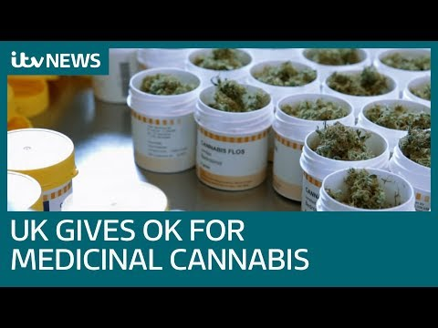 Doctors given green light to prescribe medicinal cannabis in UK | ITV News