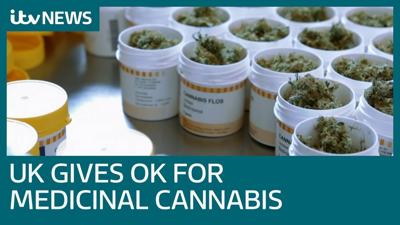 Doctors given green light to prescribe medicinal cannabis in UK | ITV News - YouTube