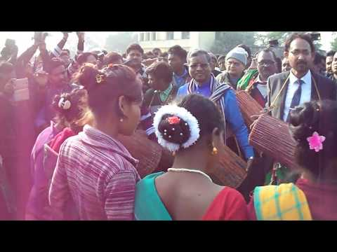 Sohrai Dance | Babulal Marandi (दिसाेम सोहराय पोरोब 2018 ) at SP College Ground Dumka 2018 HD 1