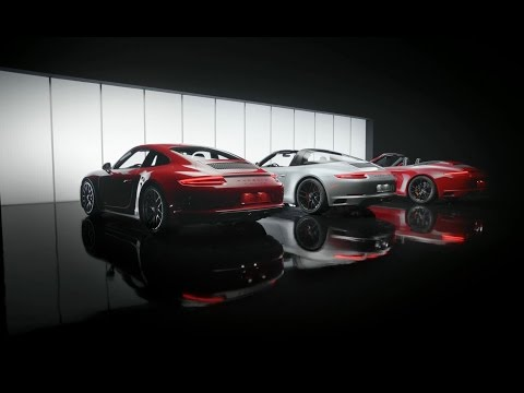 The new Porsche 911 GTS models. Features.