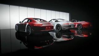 The Porsche 911 GTS models. Features.