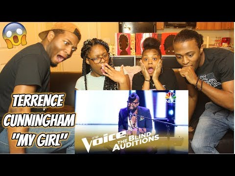 The Voice 2018 Blind Audition  Terrence Cunningham: My Girl REACTION