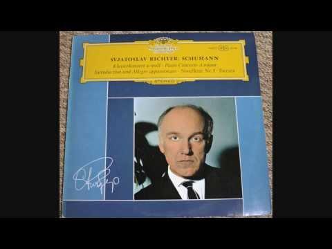 Svjatoslav Richter: Schumann Klavierkonzert A-Moll, Piano Concerto A Minor (1/2)