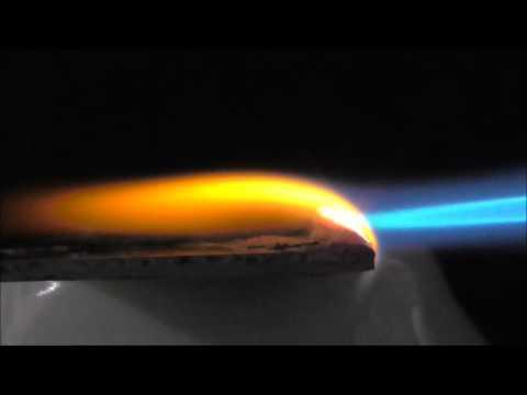 Silicone burn test 1