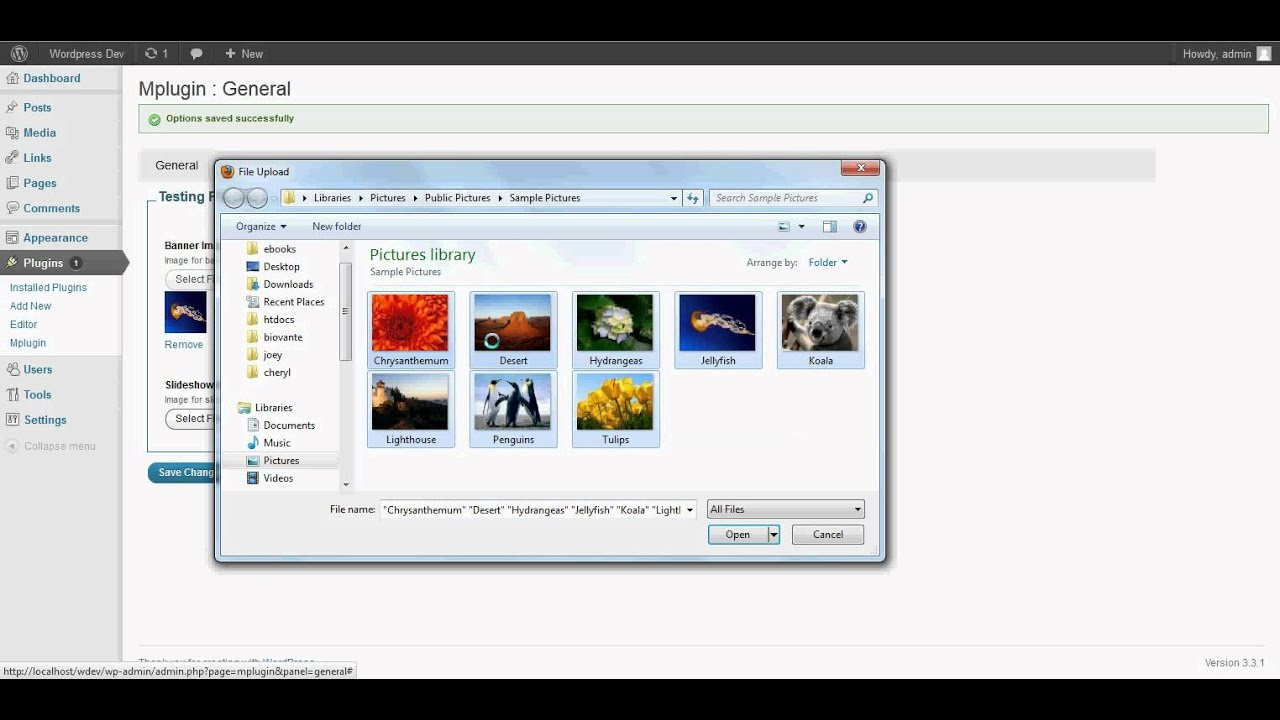 Image uploads on wordpress admin screens using jQuery and