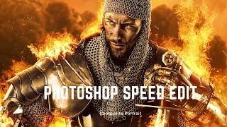 Photoshop Speed Edit Stylized Photoshop Composite