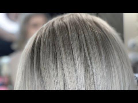 Пепельный блонд , как исправить неудачное окрашивание