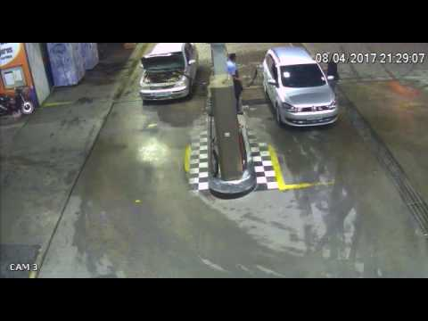 Gas tank explosion on a gas station in Brazil