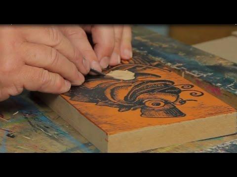 Lino & Relief Printmaking